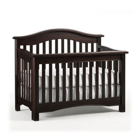 lajobi convertible crib lajobi hudson ii lifestyle crib in chocolate