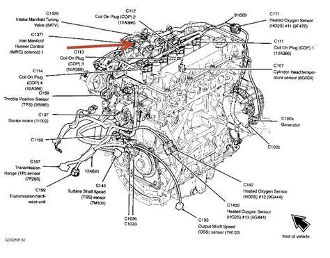 2004 ford focus engine diagram automotive parts diagram