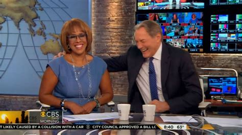 Morning News The Blemish by Gayle King Came Out On Tv The Blemish