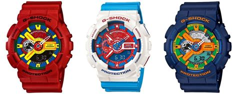 G Shock Collour watchbase rainbow g shock uploads 187 watchbase