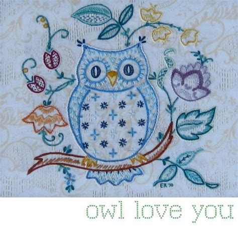 vintage owl pattern vintage owl owl embroidery and patterns on pinterest
