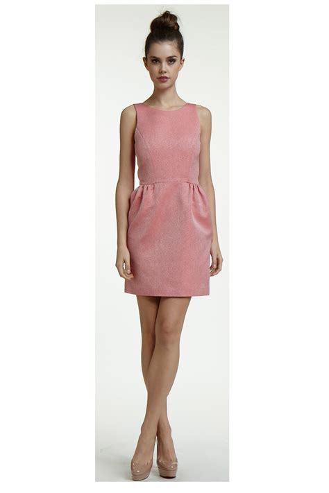 Topshops Bow Back Dress by Erin Fetherston Bow Back Dress In Pink Lyst