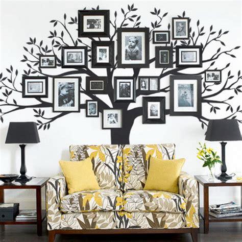 family tree wall stickers creative gallery wall ideas
