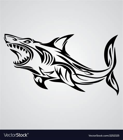 aries sign tribal royalty free vector image vectorstock shark tribal royalty free vector image vectorstock