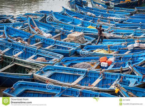 un porto marocco pescherecci in porto essaouira marocco fotografia