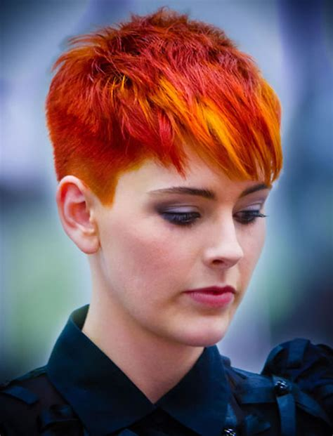 short hairstyles and color for 2017 red hair color for short hairstyles 27 cool haircut
