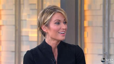 amy robach debuts short haircut on good morning america
