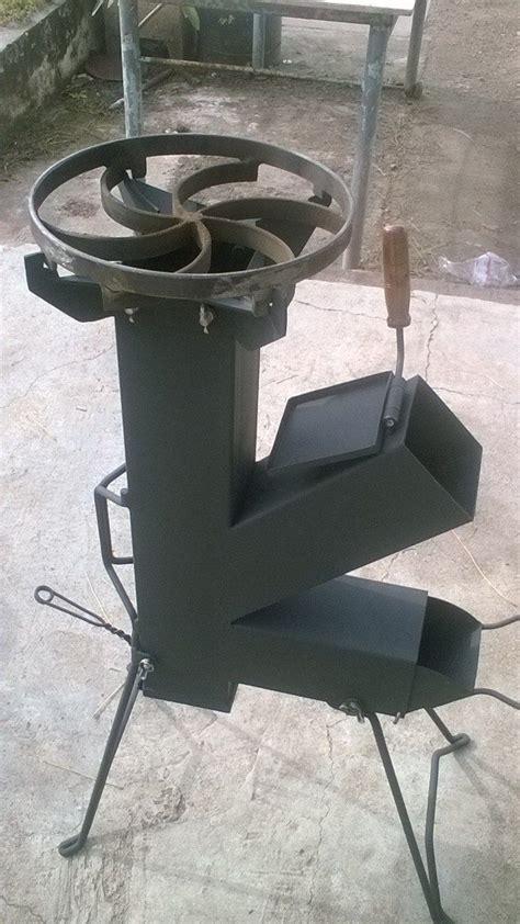 Cocina cohete rocket stove totalmente desarmable more best fire pits wood stoves places images