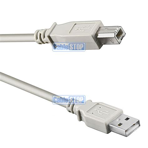 Cable Usb Printer 1 5m 5m usb pc computer printer cable a to b lead for
