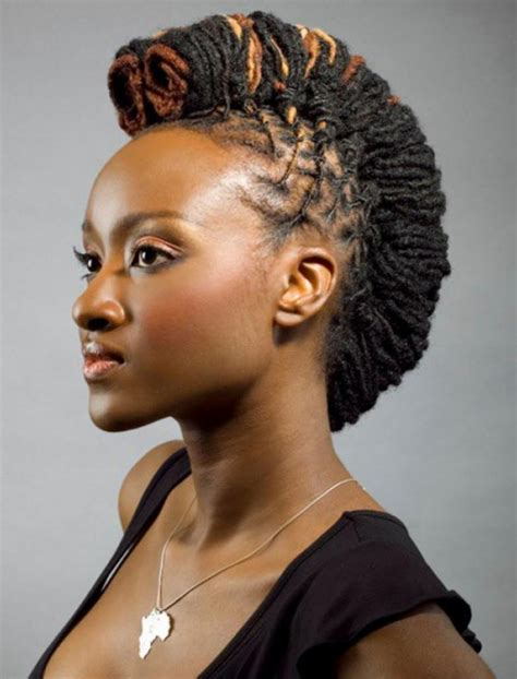 african hair dreadlock styles mohawk hairstyles for black women beautiful hairstyles