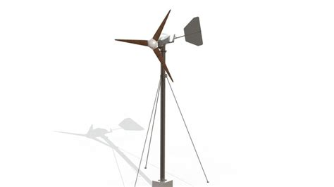solidworks tutorial wind turbine wind turbine project stl solidworks 3d cad model