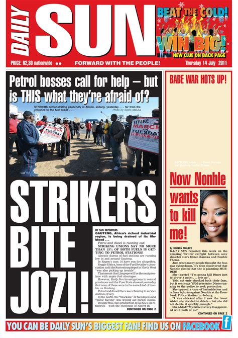 new daily sun editor must lead the beast in difficult