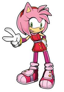 Coloriage sonic boom amy rose page 3