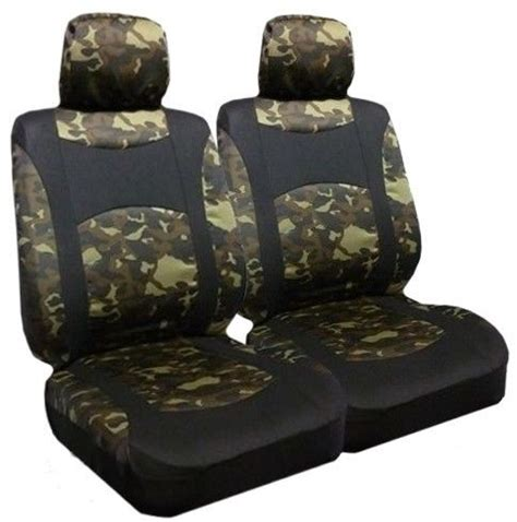 black duck camo seat covers camo low back seat covers pair ebay