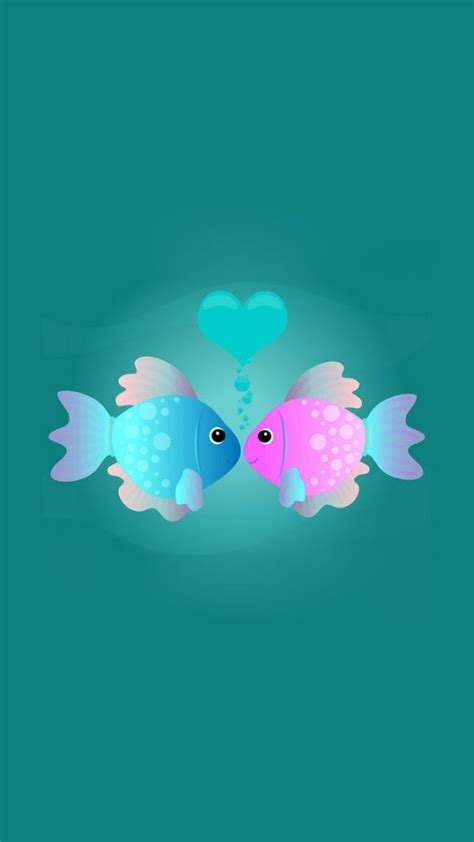 cartoon kissing wallpaper desktop cartoon kissing fishes wallpaper free iphone wallpapers