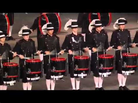 military tattoo quebec city top secret drum corps fimmq 2011 tattoo militaire de