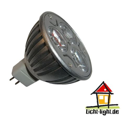 led strahler 12v led strahler 3x1w mr16 12v ac dc warmwei 223 licht light