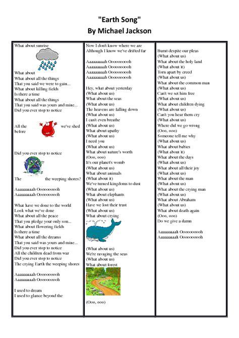 intermediate esl worksheets michael jackson biography song worksheet earth song by michael jackson