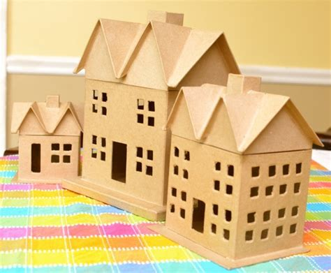 How To Make Paper Mache Houses - spooky paper m 226 ch 233 haunted houses inner child