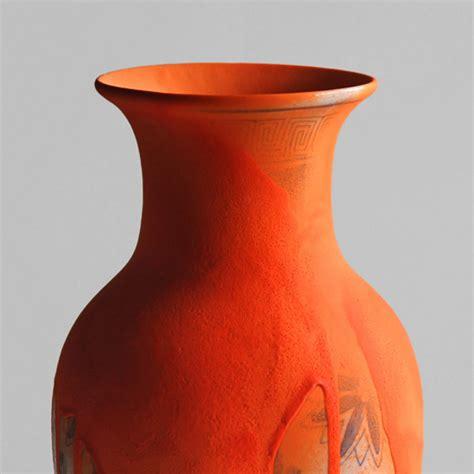 Spray Paint Ceramic Vase by Chad Wys Vases Part 1 Cfile Ceramic