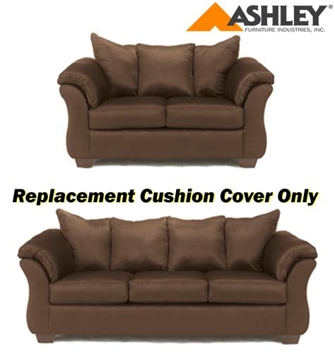 sofa cushion covers replacement ashley 174 darcy replacement cushion cover only 7500438 or