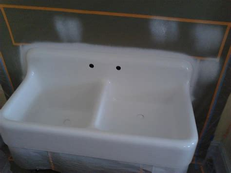 Cast Iron Sink Refinishing by Klein Basement Systems Is A Certified Dealer In The Great