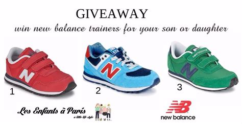 New Balance Giveaway - win new balance trainers closed les enfants 224 paris