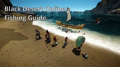bdo fishing boat spots black desert online fishing guide saarith gaming