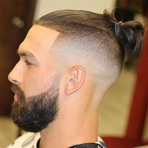 hair cuts men long hair shaved side bun shaved sides hairstyles for men 2018 men s haircuts