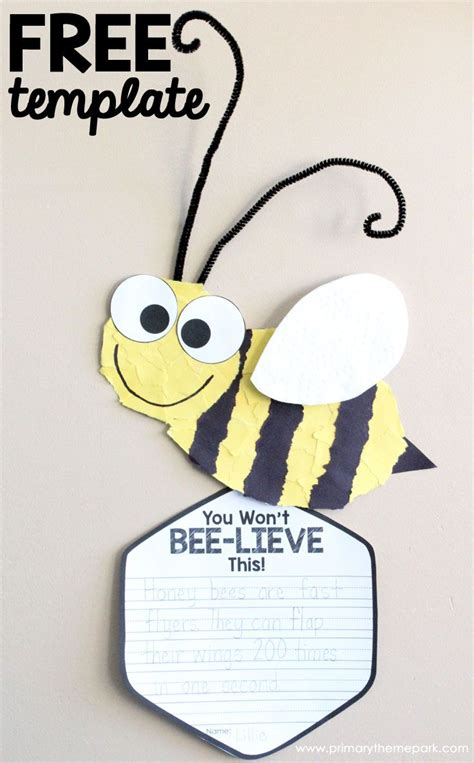 Sting Paper Crafts - bee craft template insect crafts bee crafts and free