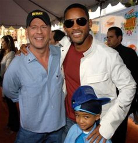 Will Smith Set Bruce Willis by Bruce Willis Walk Of Fame Walk Of