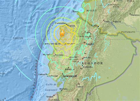 earthquake ecuador major earthquake in ecuador hundreds killed and thousands