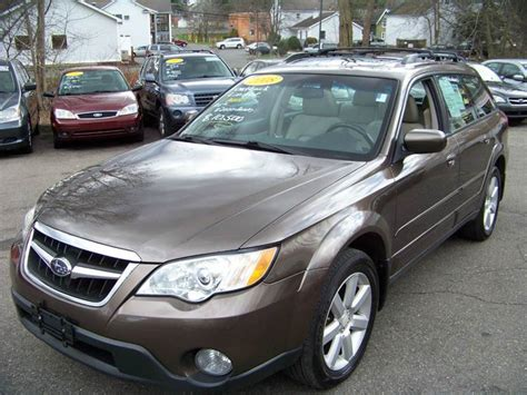 subaru vernon ct 2008 subaru outback awd 2 5i limited 4dr wagon 4a in