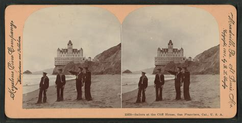 cliff house san francisco file sailors at the cliff house san francisco cal from robert n dennis collection