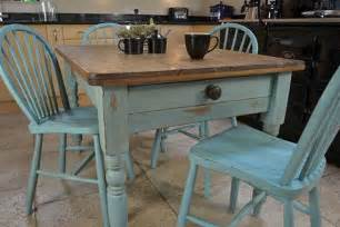 shabby chic farmhouse rustic dining table with 4 stickback chairs free uk delivery shabby