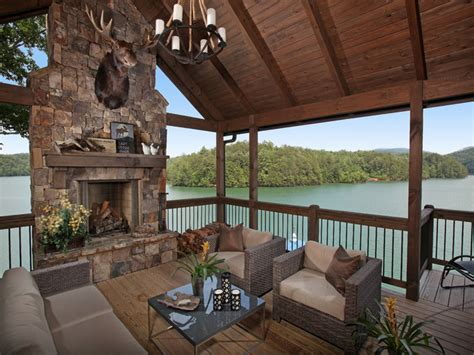 back to rustic texas home with modern design and luxury lake bluff lodge under construction rustic porch