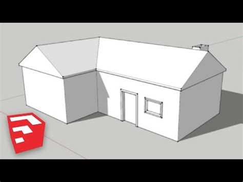 Ez Home Design Inc Sketchup 8 Lessons A Simple House