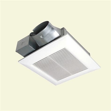 panasonic whisper quiet exhaust fan whisper value quiet low profile 100 cfm ceiling exhaust