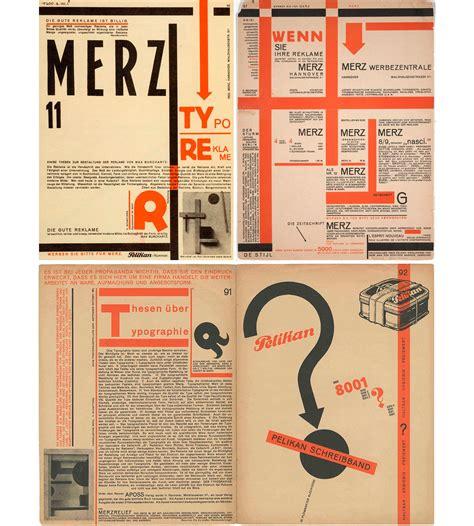 design magazine history kurt schwitters typo reklame 1923 revue merz numero 11