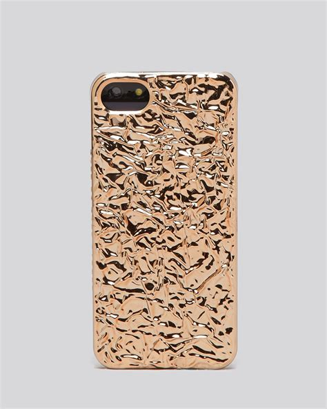 Marc Jacob For Iphone 5 S By lyst marc by marc iphone 5 5s foil covered
