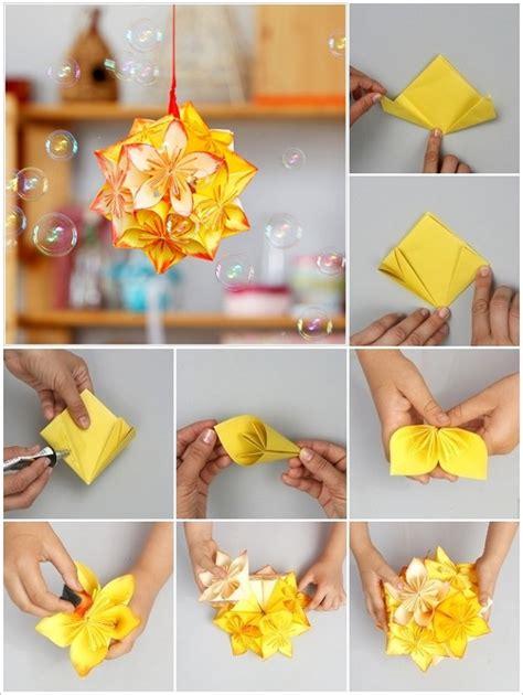 diy origami flower project home design garden