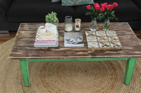 coffee table makeover sloan chalk paint and sloan on