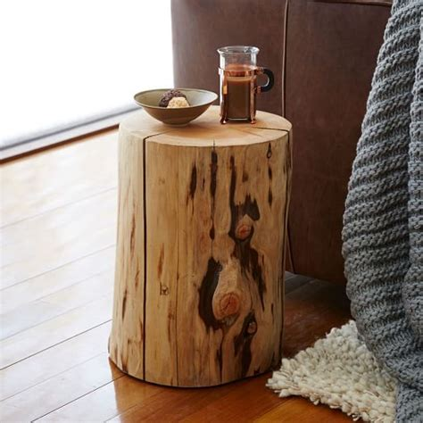tree stump side table tree stump side table elm