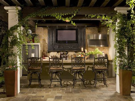Patio Bar Designs Outdoor Bars Options And Ideas Hgtv