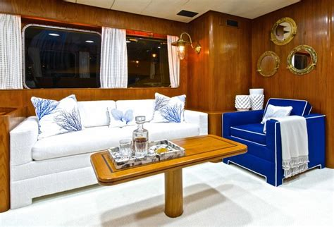 Boat Interior Accessories Aventura Yacht Beach Style Living Room Miami By