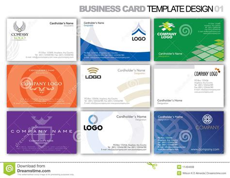 lausd business card template businesscard template business card business carddesign 点力图库