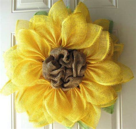 How To Make Paper Mesh - diy burlap wreath ideas for every and season