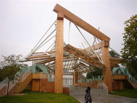 serpentine gallery pavilion 2008 by frank gehry e architect