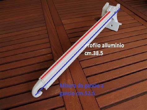 braccetti per tende da sole braccetti per tende da sole a caduta con snodo in