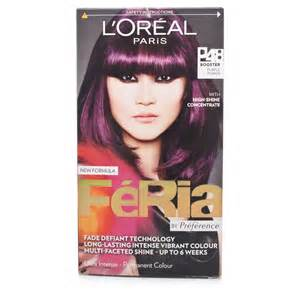 feria hair color purple feria purple power brown hairs